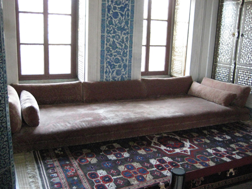 Divan in Topkapi Palace