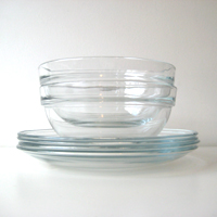 After ...  sc 1 st  Miss Minimalist & 100 Possessions: Glass Plates and Bowls « miss minimalist