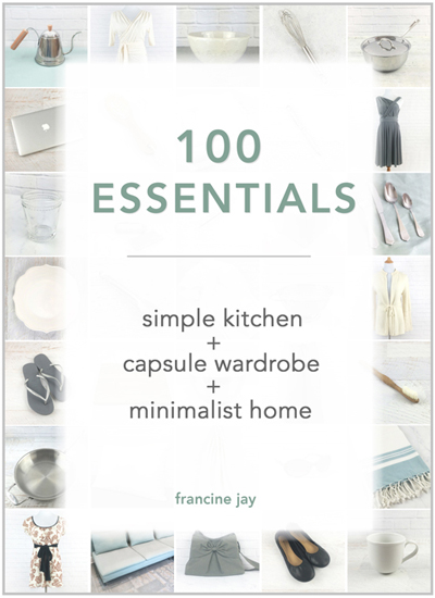Simple Kitchen Blog 100 essentials: simple kitchen + capsule wardrobe + minimalist